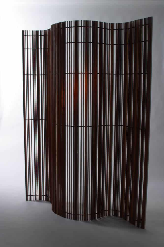 Laura McCusker, Barcode screen, 2003, photo: Peter Whyte Photography