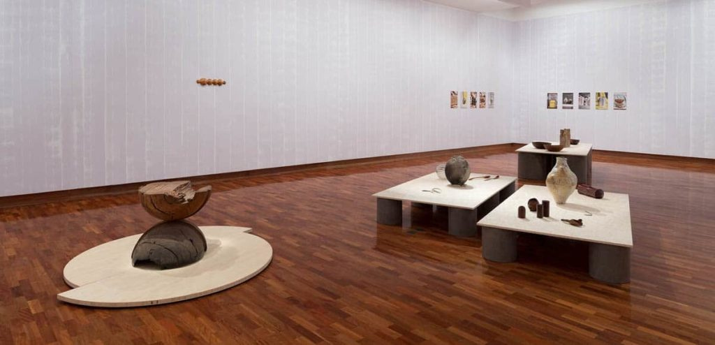 Meredith Turnbull, Mauve Room, Closer, Ian Potter Museum of Art, the University of Melbourne, installation view, 2018. Photo: Christian Capurro