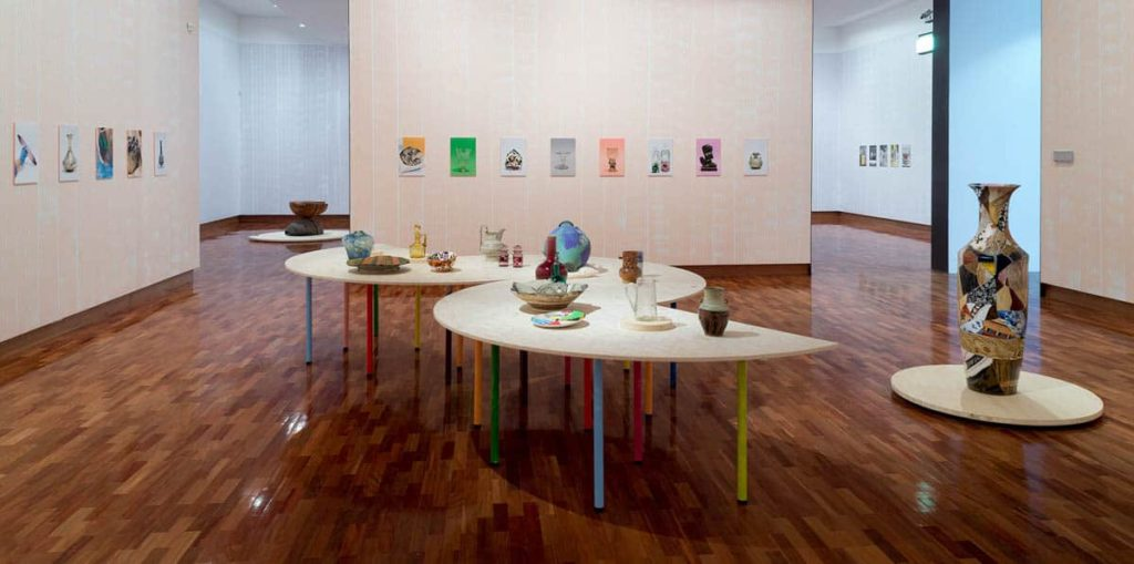 Meredith Turnbull, Coral Room, Closer, Ian Potter Museum of Art, the University of Melbourne, installation view, 2018. Photo: Christian Capurro