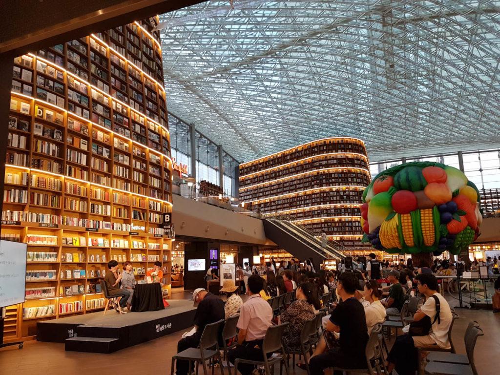 Starfield Library, Seoul, South Korea