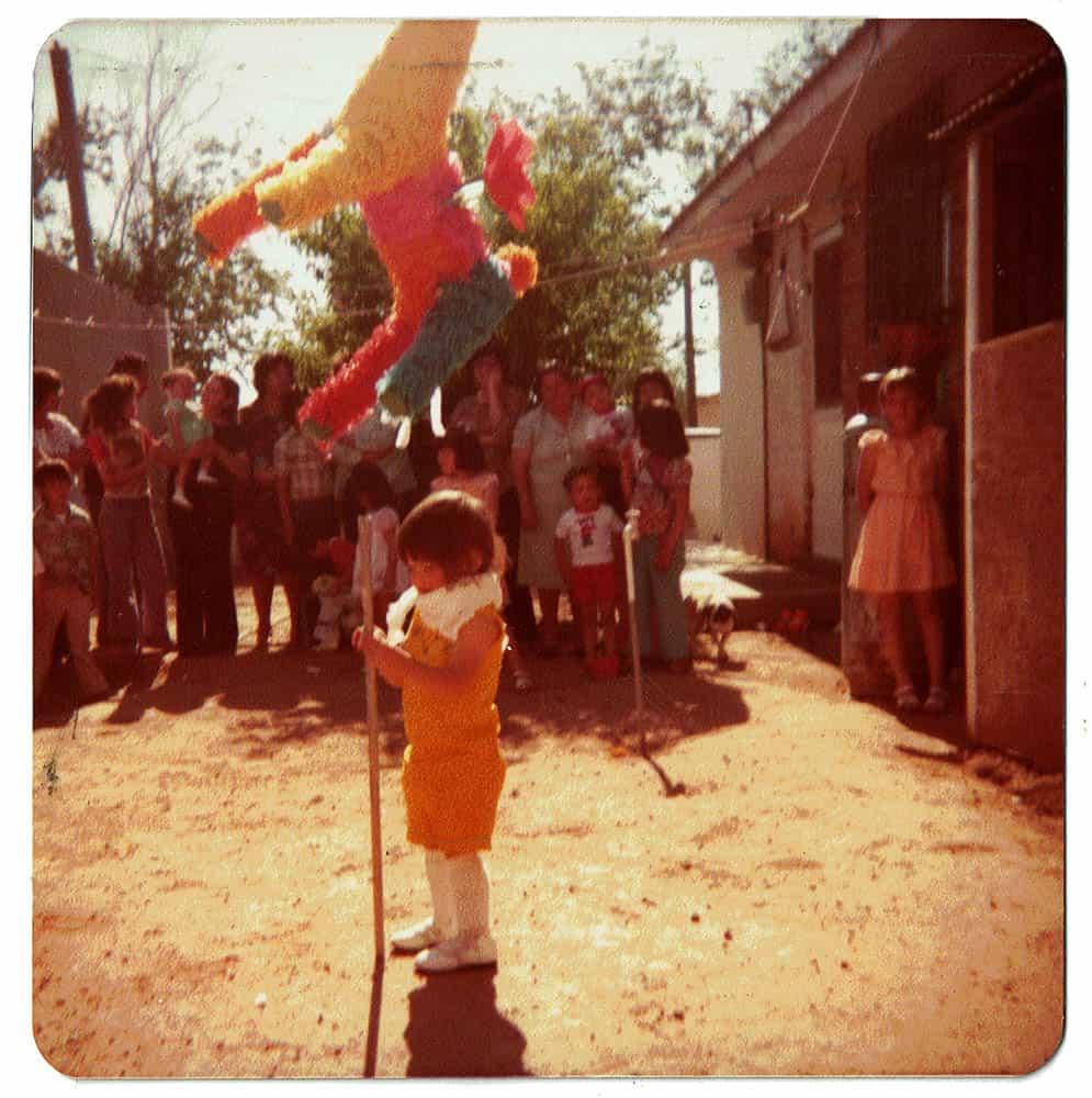 E Marruffo, Childhood photo, Agua Prieta, 1978