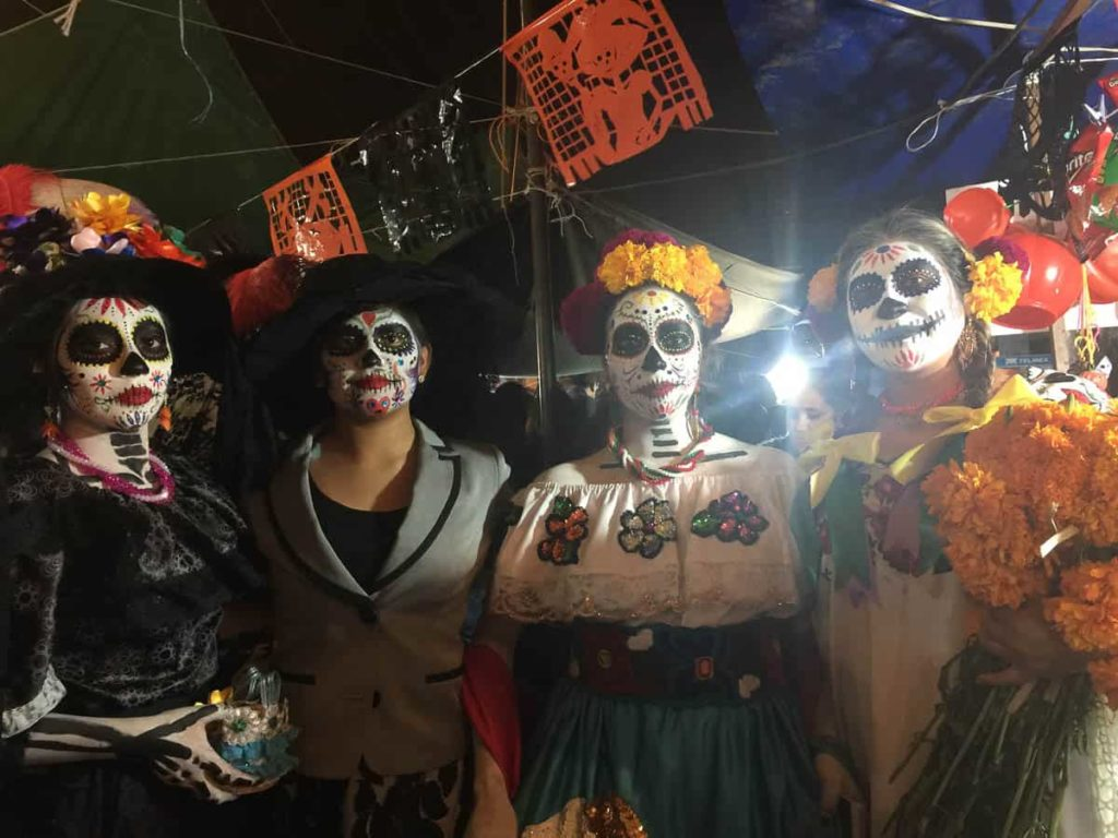Day of the Dead, San Miguel – San Andrés Mixquic, outside of Mexico City, 2 November 2016, photo: Mia Salsjö