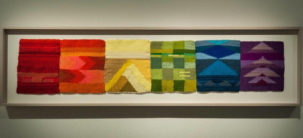 Yunuen Perez, Pattern Maker, 2017, cotton yarn, wool, natural fibres