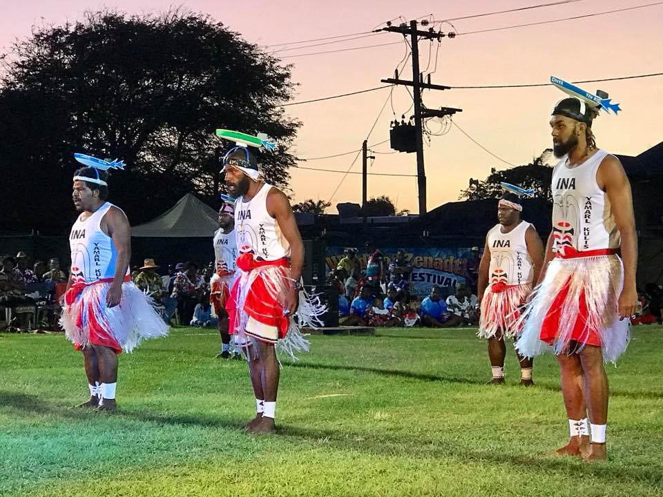Iama Island Dancers, photo courtesy of Leitha Assan