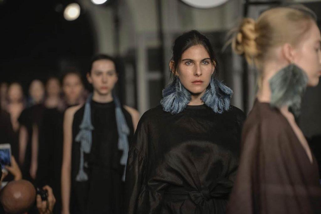 Venus y Loco. Mercedes Benz Fashion Week México, Julia y Renata, Revista Velvet Latinoamerica, photo: Carlos Contreras