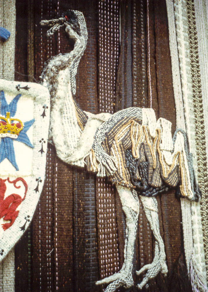 Margaret Grafton, detail from Federal Court tapestry