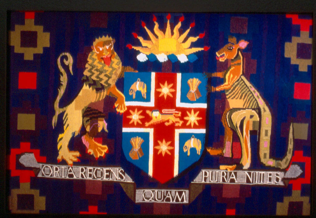 Margaret Grafton, New South Wales parliament house tapestry