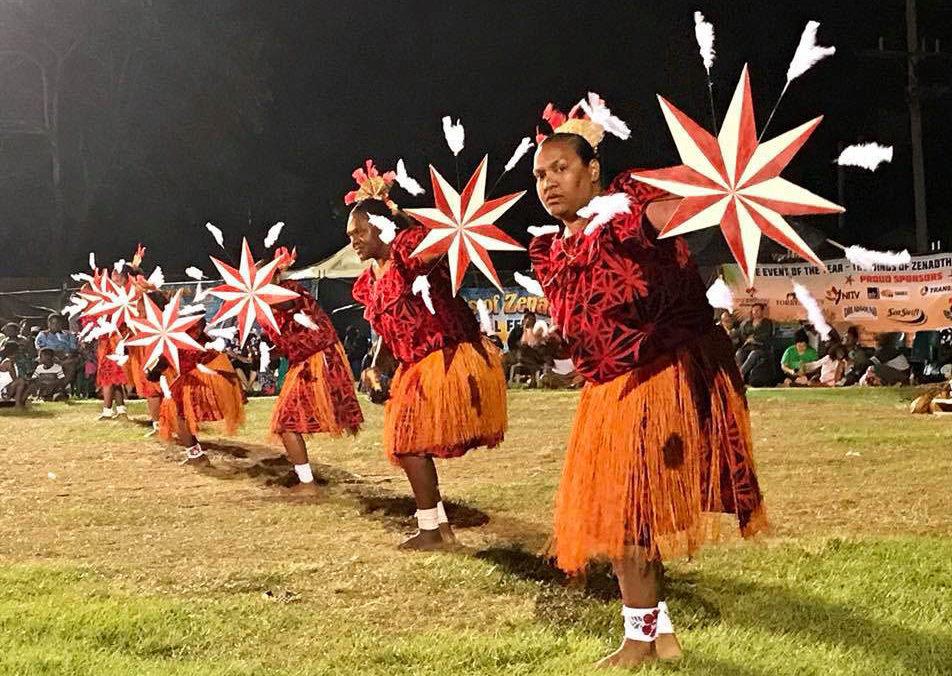 Mua Island Dancers - St Pauls Community - Women, photo courtesy of Leitha Assan