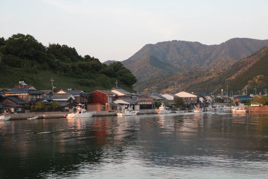 The branching bay in Hamasaki town, 2018; photo: Yoko Ozawa