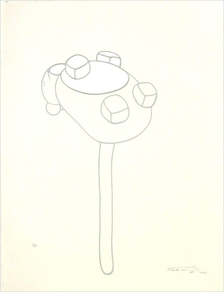 Kumi Machida, Depth, 2003Lithograph, 2003BFK paper, 65x50cm / Edition of 20Printed by Satoru Itazu at Itazu Litho-Grafik