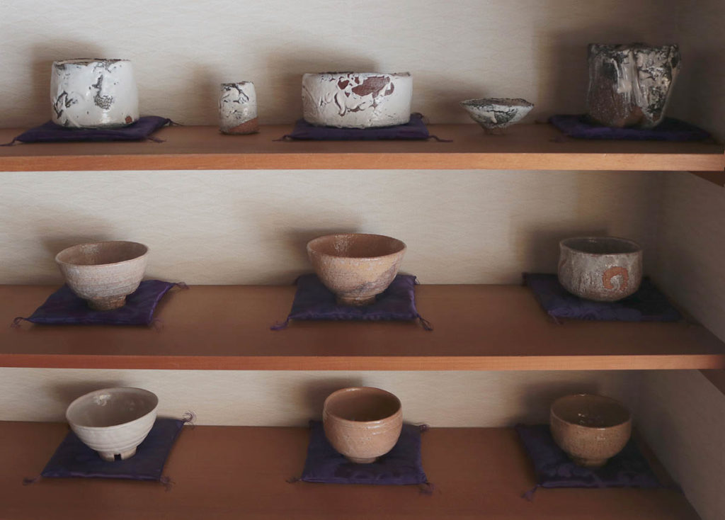 Miwa Seigado teabowl gallery, 2018; photo: Yoko Ozawa