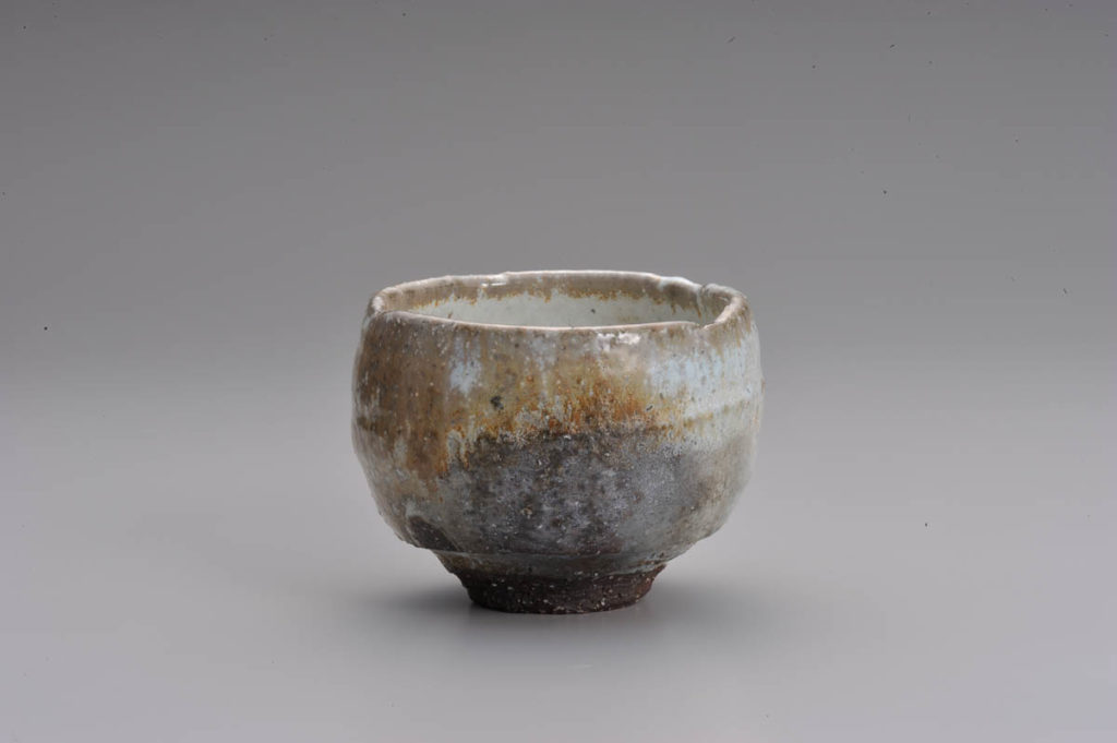 Okada, Ash covered tea bowl 裕―灰被茶盌